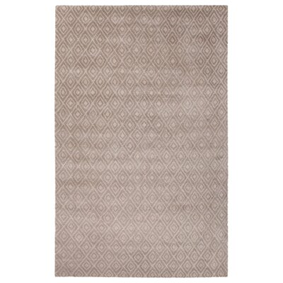 Bruce Hand-Tufted Ivory/White Area Rug Rug Size: Rectangle 5 x 8