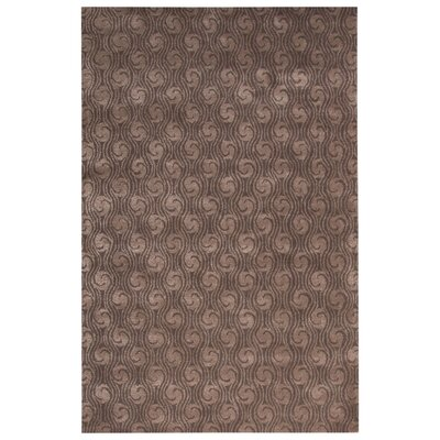 Rainey Street Hand-Tufted Gray Area Rug Rug Size: 5 x 8