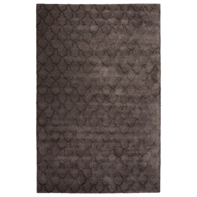 Rainey Street Hand-Tufted Gray Area Rug Rug Size: 96 x 136