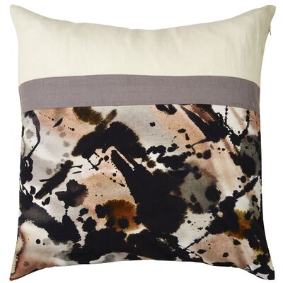 Brittaney Square Watercolor Throw Pillow