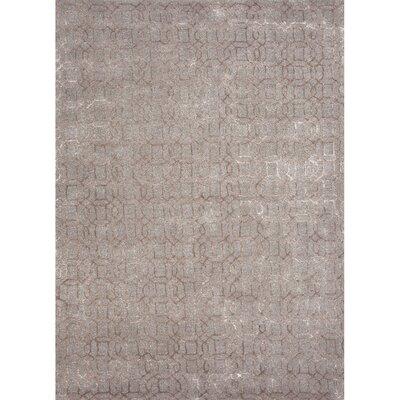 Rainey Street Gray Area Rug Rug Size: 96 x 136