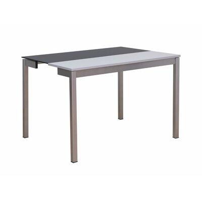 Meade Dining Table Table Top Finish: Black