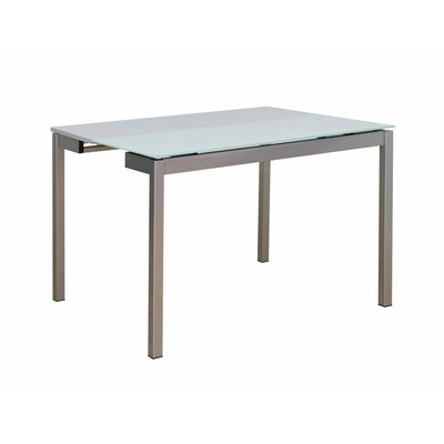 Meade Dining Table Color: White