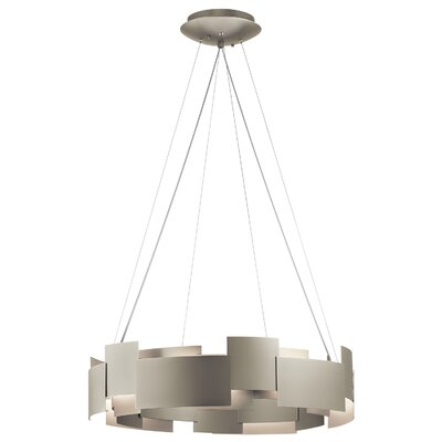 Willis 2-Light LED Drum Pendant