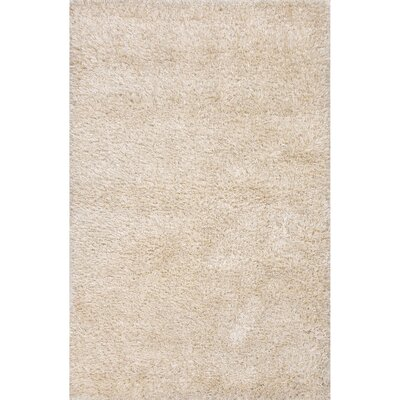 Burnell Beige Solid Area Rug Rug Size: Rectangle 5 x 8