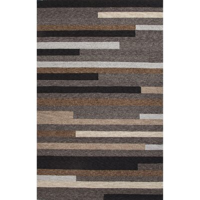 Sousanna Gray/Taupe Geometric Indoor/Outdoor Rug Rug Size: 3 x 5