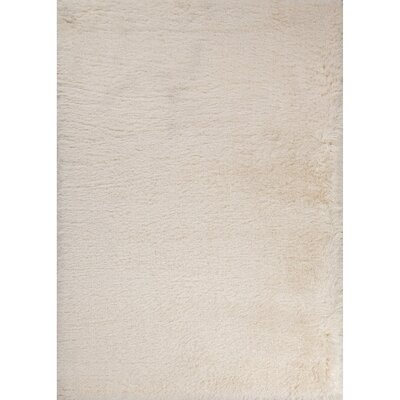 Bryana Ivory/White Area Rug Rug Size: Rectangle 2 x 3