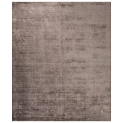 Canarsie Hand-Loomed Taupe/Tan Area Rug Rug Size: 8 x 10