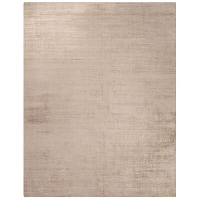 Canarsie Hand-Loomed Beige/Brown Area Rug Rug Size: Rectangle 9 x 12