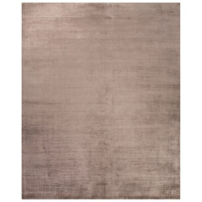 Canarsie Hand-Loomed Taupe/Tan Area Rug Rug Size: Rectangle 5 x 8