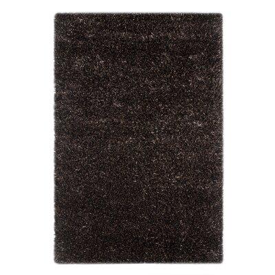 Loftin Ebony/Bleached Linen Area Rug Rug Size: 2' x 3'