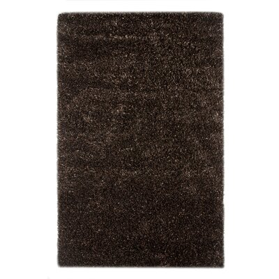 Burnell Ebony/Light Beige Area Rug Rug Size: Rectangle 5 x 8
