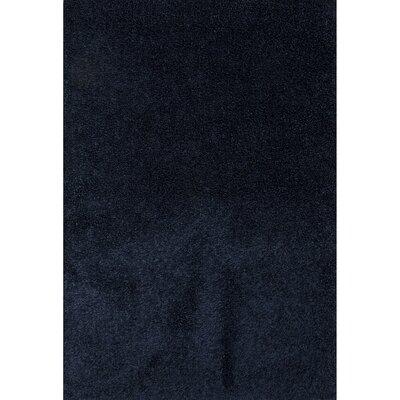 Brys Polyester Dark Denim Shag Area Rug Rug Size: 2 x 3