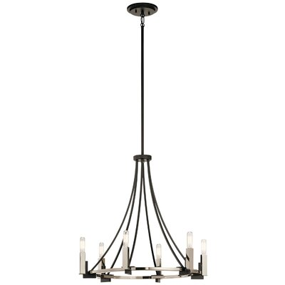 Canis 6-Light Candle-Style Chandelier