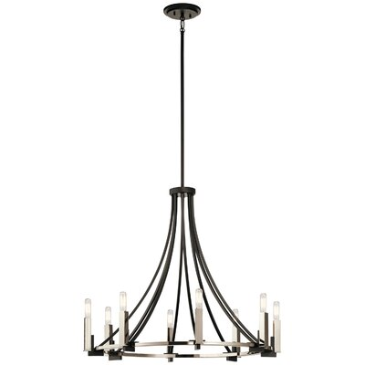 Canis 8-Light Candle-Style Chandelier
