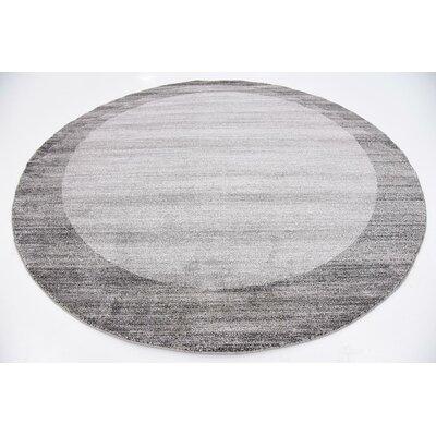 Dunsmuir Light Gray Indoor/Outdoor Area Rug