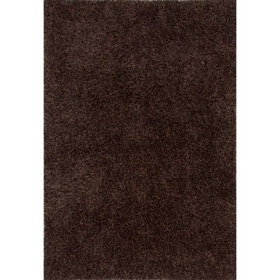 Brucie Red/Taupe Area Rug Rug Size: Rectangle 8 x 10