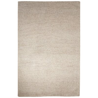 Brunelle Hand-Loomed Tan Area Rug Rug Size: Rectangle 5 x 8