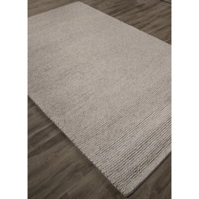 Brunelle Hand-Loomed Ivory/White Area Rug Rug Size: Rectangle 5 x 8