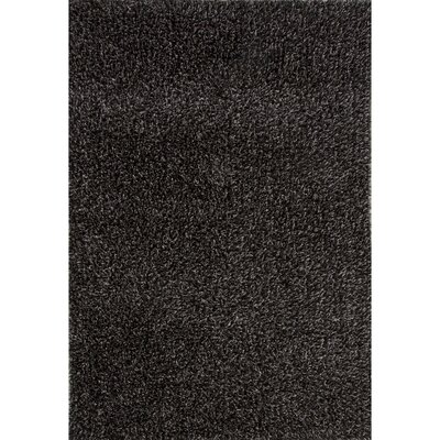 Brucie Caviar/Bright White Area Rug Rug Size: Rectangle 5 x 76