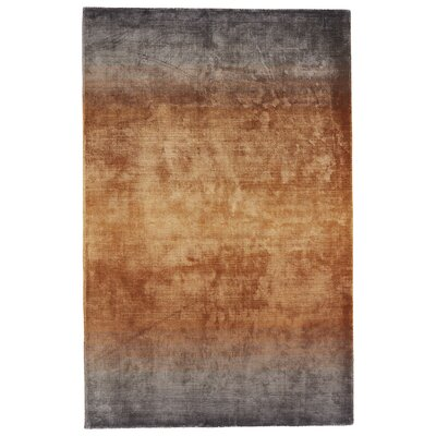 Bedford Hand-Loomed Gray/Brown Area Rug Rug Size: 2 x 3