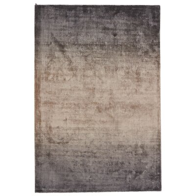 Brigida Hand-Loomed Gray/Brown Area Rug Rug Size: 8 x 11