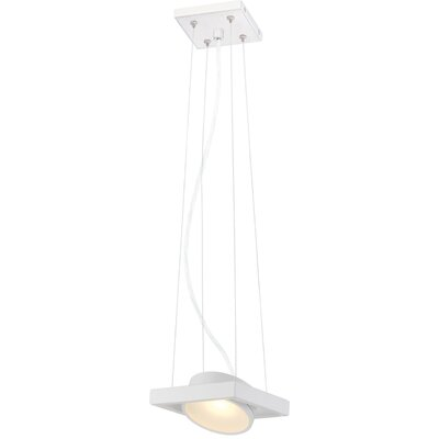 Cheleb 1-Light LED Pendant Finish: White