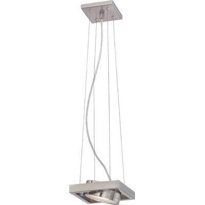 Cheleb 1-Light LED Pendant Finish: Brushed Nickel