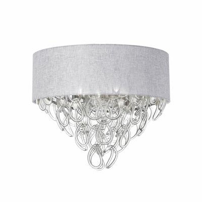 Fornacis 4-Light Flush Mount