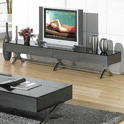 Miles 79 TV Stand Color: Gray