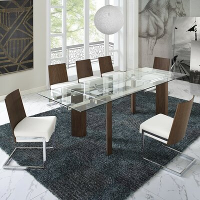 Bontrager 5 Piece Dining Set Upholstery Color: White