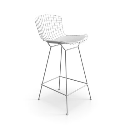 Ellie 26.5 Bar Stool Finish: White
