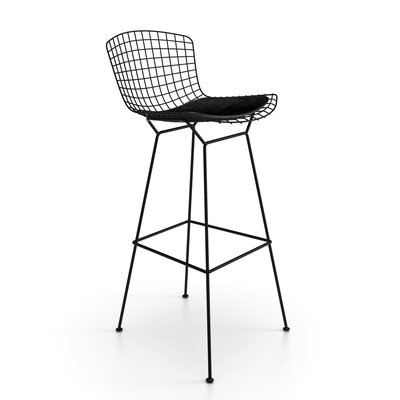 Ellie 29.25 Bar Stool Finish: Black