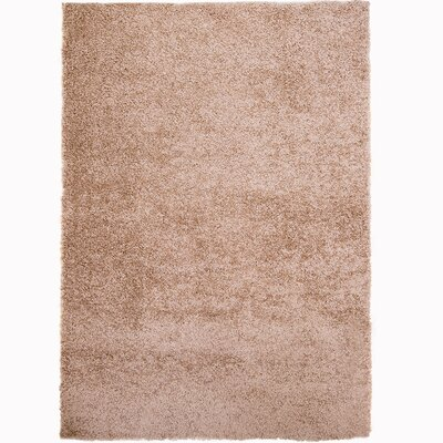 Brandt Taupe Area Rug Rug Size: 78 x 104