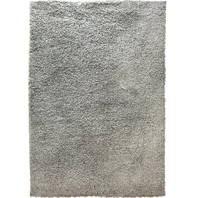Brandt Silver Area Rug Rug Size: 33 x 43