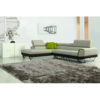 Cana Recessed Arms Sectional