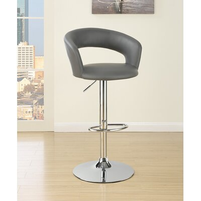 Semarang Adjustable Height Swivel Bar Stool