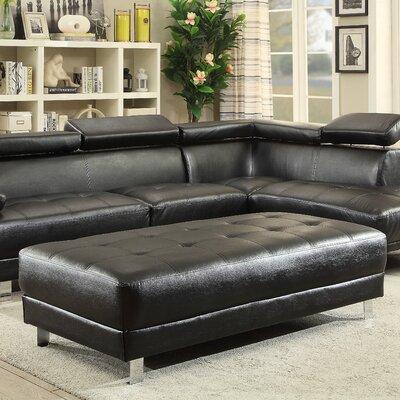 Verena Ottoman Upholstery Color: Black