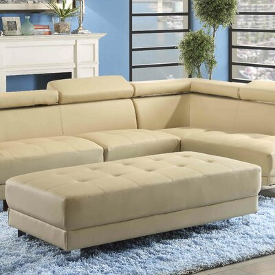Verena Ottoman Upholstery Color: Beige