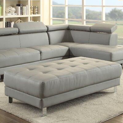 Blangkejeren Ottoman Upholstery Color: Gray
