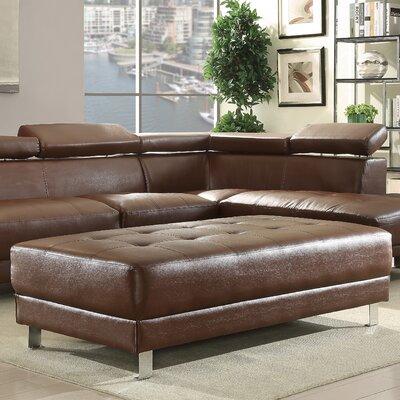 Blangkejeren Ottoman Upholstery Color: Brown