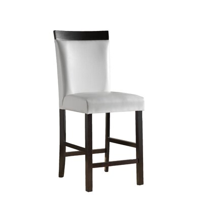 Shrutika 25 Bar Stool (Set of 2) Upholstery: White