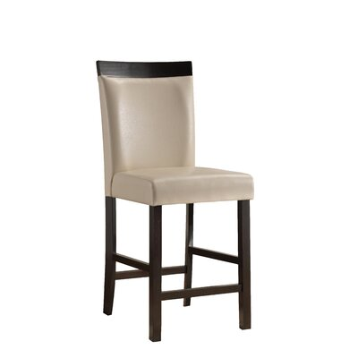Shrutika 25 Bar Stool (Set of 2) Upholstery: Beige