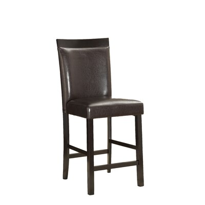 Shrutika 25 Bar Stool (Set of 2) Upholstery: Brown