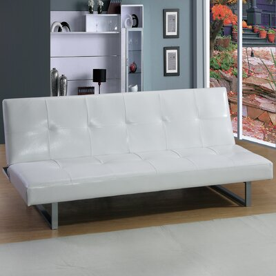 Chavez Contemporary Sleeper Sofa Upholstery: White