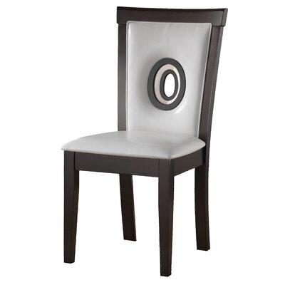 Braylon Side Chair (Set of 2) Upholstery: White