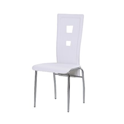Braylon Side Chair (Set of 4) Upholstery: White