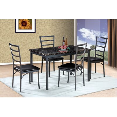 Shrutika Upholstery 5 Piece Dining Set