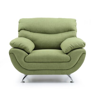 Simon Armchair Color: Green