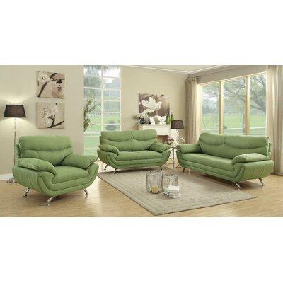 Orren Ellis ORNE3460 Xamiera 3-Pieces Living Room Collection